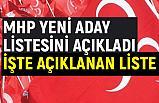 MHP, 402 Belediye Başkanı Adayını daha Açıkladı