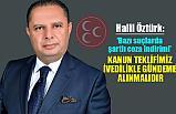 MHP'li Öztürk; Bazı suçlarda şartlı ceza indirimi İvedilikle Gündeme Alınmalı