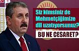 Mustafa Destici; Bu Ne Cesaret!