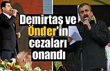 Selahattin Demirtaş ve Sırrı Süreyya Önder'e Ceza Şoku