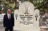 Başkan Şahin'den Yaşar Doğu Ziyareti: Türk milletinin gururu