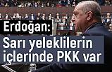 Erdoğan, Fransa'da sarı yeleklilerin içlerinde PKK var