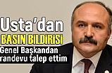Erhan Usta, Devlet Bahçeli İle Görüşecek