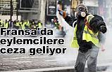 """Fransa'da """"maske"""" takan protestoculara ceza geliyor"""