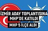 İzmir'de Aday Tanıtım Toplantısına MHP'de katıldı