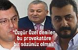 MHP'li Enginyurt: Özgür Özel denilen bu provokatöre bir sözünüz olmalı