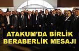 MHP ve AK Parti Atakum'da ilçe teşkilatlarıyla buluştu