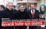 Mustafa Demir; 31 Mart'dan Sonra Tek Yürekle Adım Atacağız