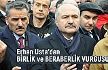 Erhan Usta; Yardımlaşma ve Dayanışmaya İhtiyacımız Var!