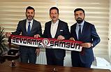 İttifak Adayı Tok, Samsunspor Platformu üyeleri ile bir araya geldi