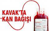 Kavak'ta Kan Bağışı Kampanyası Başlatıldı