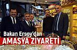 Kültür ve Turizm Bakanı Ersoy'dan Amasya Ziyareti
