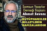 Ahmet Seven; Bizim dinimizin ilk emri oku olmuştur