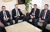 Bakan Yardımcısı Sinan Aksu'dan, Hüseyin Tosun'a Ziyaret