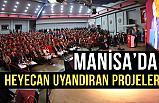 Cumhur İttifakı Manisa  Belediye Başkanı Adayı Ergün, Projelerini Açıkladı