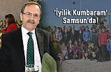 'İyilik Kumbaram' Samsun'da Zihni Şahin'in Misafiri Oldu