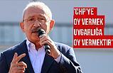 Kılıçdaroğlu; CHP herkesin inancına saygı gösterir.