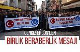 Manisa Belediye Başkan Adayı Cengiz Ergün'den Birlik Beraberlik Mesajı