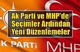 Ak Parti ve MHP'de Seçimler Ardından Yeni Düzenlemeler