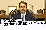 Başkan Eroğlu; Tokat'ı tarımda Türkiye'nin 10 ilinden biri yapalım