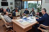 Başkan Topaloğlu'na MHP'den Ziyaret