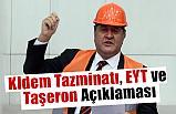 CHP'li Gürer'den KIdem Tazminatı, EYT ve Taşeron Açıklaması