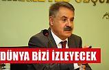 """DEVECİ, """"DÜNYA BİZİ İZLEYECEK"""""""