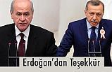 Erdoğan'dan Bahçeli ve MHP Kadrolarına Teşekkür...