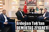 Erdoğan Tok'tan Demirtaş'a Hayırlı Olsun Ziyareti