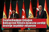 Erdoğan ve Morales'ten ortak açıklama