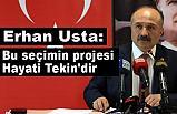 Erhan Usta, Basın toplantısında Adaylık Sürecini Değerlendirdi