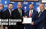 Ersan Aksu; Kavak Emanete Sahip Çıktı