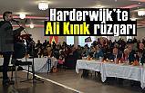 Harderwijk'te Ali Kınık rüzgarı