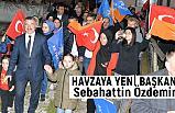 Havza Belediye Başkanı Sebahattin Özdemir Oldu