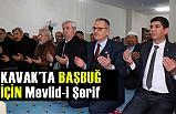 Kavak'ta Alparslan Türkeş'in vefatının 22. Yıl dönümünde Mevlid-i Şerif