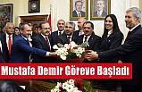 Samsun Büyükşehir Belediye Başkanı Mustafa Demir, Görevi Devraldı