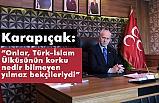 """Karapıçak, 27 Mayıs """"Ülkücü Şehitler Günü"""" Mesajı Yayımladı"""