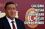 CHP Milletvekili Gürer, çalışma yaşamı sorunlarını gündeme Getirdi