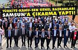 Türkiye Kamu-Sen 1 Mayıs'ta Samsun'a Çıktı