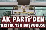 Ak Parti'den Kritik YSK Başvurusu