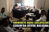 Av. Gök, İşadamı Sertakan, 'Kuzey Gücü'CEO'su KarayanÇorum'da Buluştu