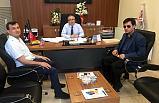 Bafra Görme Engelliler Derneğinden İşkur Müdürlüğü'ne Ziyaret