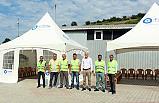 Canik Belediyesi Taziye Çadırı kurdu