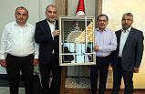 Canik Belediyesine Mustafa Demir Ziyareti