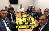 Gümüşhane, MHP Teşkilatları ve Belediye Başkanları İstanbul'da