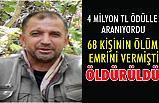 Kırmızı listede Adı Bulunan terörist Bitlis'te öldürüldü!