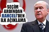 MHP Lideri Bahçeli'den Seçim Ardından ilk açıklama!