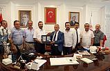 Başkan Sarıcaoğlu, Necattin Demirtaş'ıziyaret etti