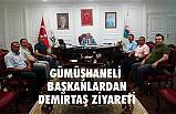 Gümüşhaneli Başkanlardan Necattin Demirtaş'a Ziyaret