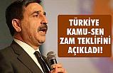 Türkiye Kamu-Sen'in Zam Teklifi Ne Kadar?